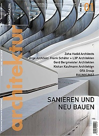 Architektur Magazin Feb. 2010 #01 Cover Story