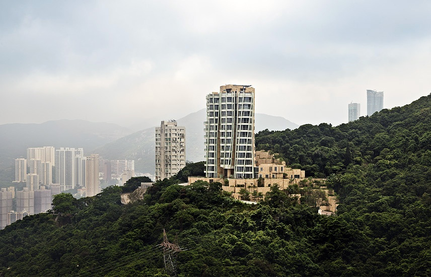 Opus Apartments Hong Kong Architecture Peter Bennetts Architectural Photographer