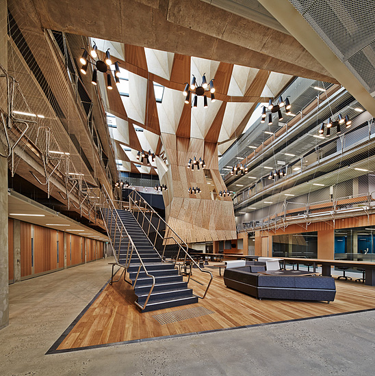 Melbourne school of design university of melbourne for Architecture firms melbourne