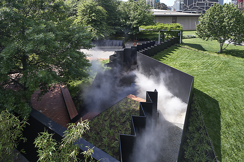 2018 NGV ARCHITECTURE COMMISSION DOUBLEGROUND BY MUIR + OPENWORK