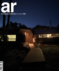 AR Architectural Review Australia #099 Cover Story
