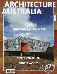 ARCHITECTURE AUSTRALIA MARCH/APRIL 12 VOL.101 NO2 COVER STORY