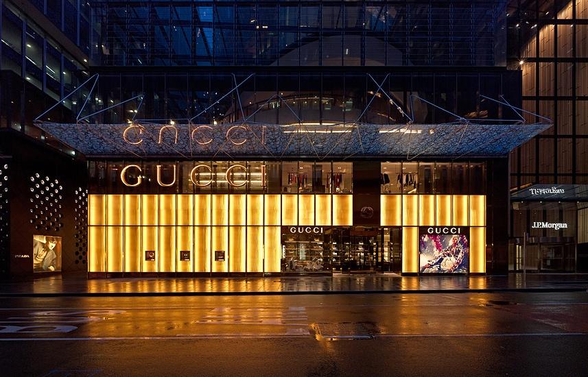 GUCCI Sydney Architectureinteriors Peter Bennetts